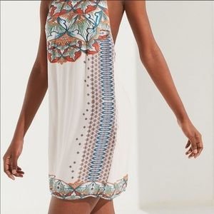 NWT Urban Outfitters Catalina Printed Halter Dress
